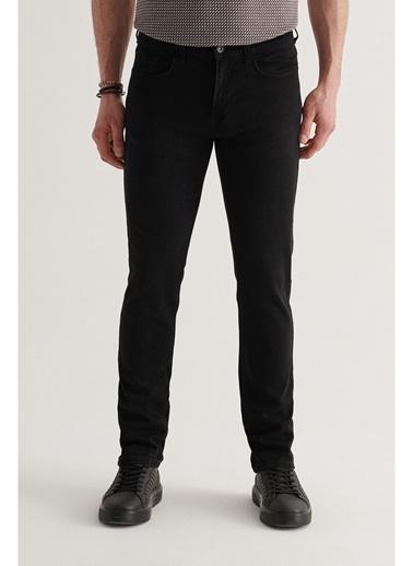 Avva Erkek Slim Fit Jean Pantolon A11Y3701 Siyah